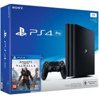 Sony Playstation 4 PRO 1Tb + Assassin's Creed Valhalla\Вальгалла (русская версия)
