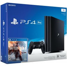 Sony Playstation 4 PRO 1Tb + Battlefield 1 (русская версия)