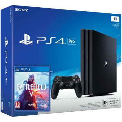 Sony Playstation 4 PRO 1Tb + Battlefield V (русская версия)
