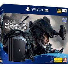 Sony Playstation 4 PRO 1Tb + Call of Duty: Modern Warfare (русская версия)