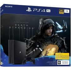 Sony Playstation 4 PRO 1Tb + Death Stranding (русская версия)