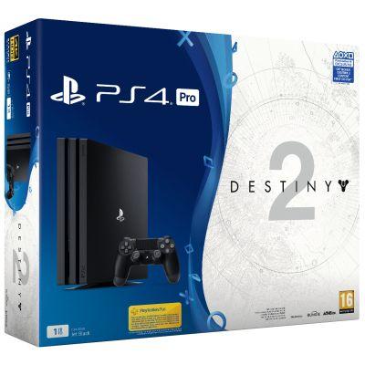 Sony Playstation 4 PRO 1Tb + Destiny 2 (русская версия)