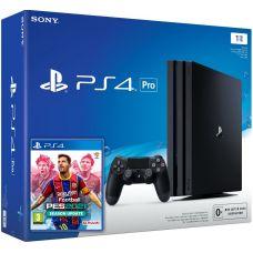 Sony Playstation 4 PRO 1Tb + eFootball Pro Evolution Soccer 2021 (русская версия)
