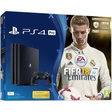 Sony Playstation 4 PRO 1Tb + FIFA 18 (русская версия)