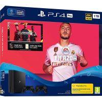 Sony Playstation 4 PRO 1Tb + FIFA 20 (русская версия) + DualShock 4 (Version 2) (black)