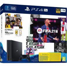 Sony Playstation 4 PRO 1Tb + FIFA 21 (русская версия)