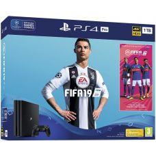 Sony Playstation 4 PRO 1Tb + FIFA 19 (русская версия)