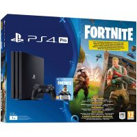 Sony Playstation 4 PRO 1Tb + Fortnite (русская версия)