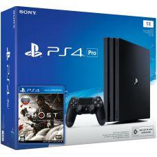 Sony Playstation 4 PRO 1Tb + Ghost of Tsushima (русская версия)