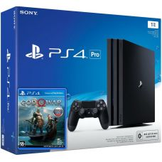 Sony Playstation 4 PRO 1Tb + God of War 4 (русская версия)