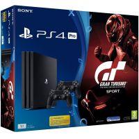 Sony Playstation 4 PRO 1Tb + Gran Turismo Sport (русская версия) + DualShock 4 (Version 2) (black)