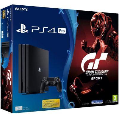 Sony Playstation 4 PRO 1Tb + Gran Turismo Sport (русская версия)