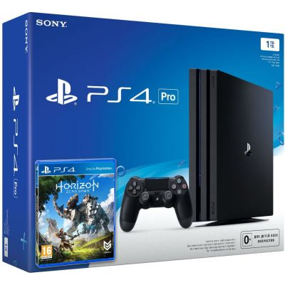 Sony Playstation 4 PRO 1Tb + Horizon Zero Dawn (русская версия)