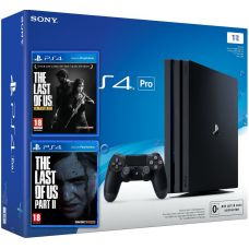 Sony Playstation 4 PRO 1Tb + The Last of Us + The Last of Us Part II (русская версия)