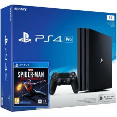 Sony Playstation 4 PRO 1Tb + Marvel's Spider-Man: Miles Morales (русская версия)