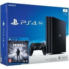 Sony Playstation 4 PRO 1Tb + Metro Exodus / Исход (русская версия)
