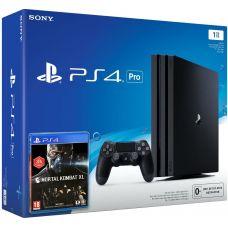 Sony Playstation 4 PRO 1Tb + Mortal Kombat XL (русская версия)