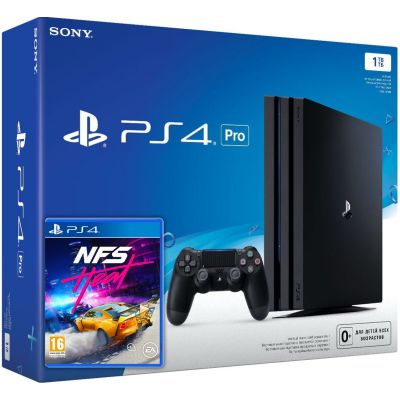Sony Playstation 4 PRO 1Tb + Need for Speed Heat (русская версия)