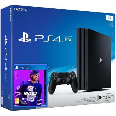 Sony Playstation 4 PRO 1Tb + NHL 20 (русская версия)
