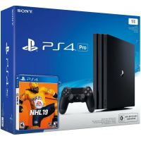 Sony Playstation 4 PRO 1Tb + NHL 19 (русская версия)