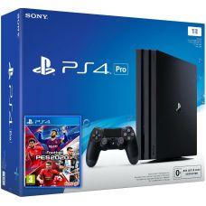 Sony Playstation 4 PRO 1Tb + Pro Evolution Soccer 2020 (eFootball) (русская версия)