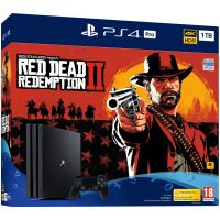 Sony Playstation 4 PRO 1Tb + Red Dead Redemption 2 (русская версия)
