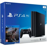Sony Playstation 4 PRO 1Tb + Sekiro: Shadows Die Twice (русская версия)