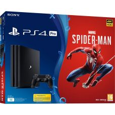 Sony Playstation 4 PRO 1Tb + Spider-Man (русская версия)