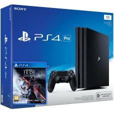 Sony Playstation 4 PRO 1Tb + Star Wars Jedi: Fallen Order (русская версия)