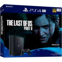 Sony Playstation 4 PRO 1Tb + The Last of Us Part II (русская версия)