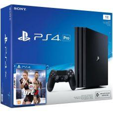 Sony Playstation 4 PRO 1Tb + UFC 2