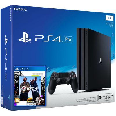 Sony Playstation 4 PRO 1Tb + UFC 4 (русская версия)