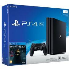 Sony Playstation 4 PRO 1Tb + Injustice 2 (русская версия)