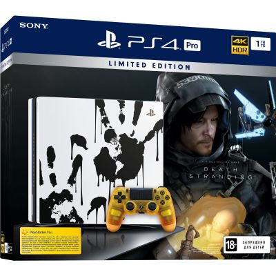 Sony Playstation 4 PRO 1Tb Limited Edition Death Stranding + Death Stranding (русская версия)