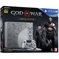 Sony Playstation 4 PRO 1Tb Limited Edition God of War 4 + God of War 4 (русская версия)