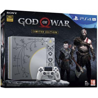 Sony Playstation 4 PRO 1Tb Limited Edition God of War 4 + God of War 4 (русская версия)