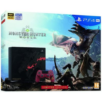 Sony Playstation 4 PRO 1Tb Limited Edition Monster Hunter: World + Monster Hunter: World