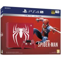 Sony PlayStation 4 PRO 1Tb Limited Edition Spider-Man + Spider-Man (русская версия)