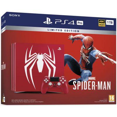 Sony PlayStation 4 PRO 1Tb Limited Edition Spider-Man + Spider-Man (русская версия)
