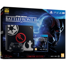 Sony Playstation 4 PRO 1Tb Limited Edition Star Wars: Battlefront II + Star Wars: Battlefront II Special Edition (русская версия)