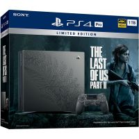 Sony Playstation 4 PRO 1Tb Limited Edition The Last of Us Part II + The Last of Us Part II (русская версия)