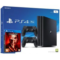 Sony Playstation 4 PRO 1Tb + Tekken 7 (русская версия) + DualShock 4 (Version 2) (black)