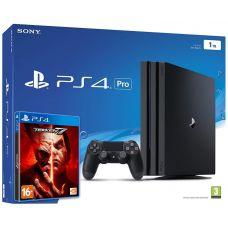 Sony Playstation 4 PRO 1Tb + Tekken 7 (русская версия)