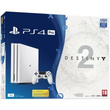 Sony Playstation 4 PRO 1Tb White  + Destiny 2 (русская версия)