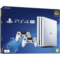 Sony Playstation 4 PRO 1Tb White + DualShock 4 (Version 2) (white)