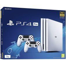 Sony Playstation 4 PRO 1Tb White + DualShock 4 (Version 2) (white)