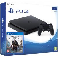 Sony Playstation 4 Slim 1Tb + Assassin's Creed Valhalla\Вальгалла (русская версия)