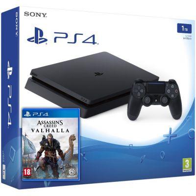 Sony Playstation 4 Slim 1Tb + Assassin's Creed Valhalla\Вальгалла (русская версия)