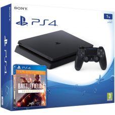 Sony Playstation 4 Slim 1Tb + Battlefield 1. Революция (русская версия)