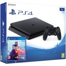 Sony Playstation 4 Slim 1Tb + Battlefield V (русская версия)